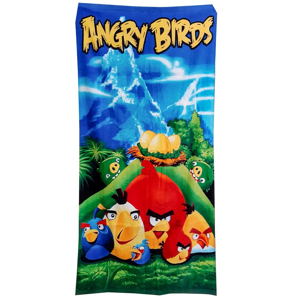 пляжное полотенце angry birds
